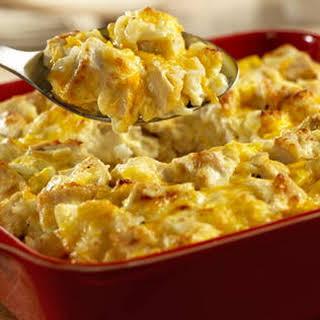 Cheddar Chicken Salad Casserole.