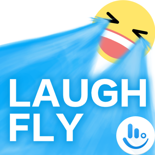 Laugh Fly TouchPal Boomtext Icon