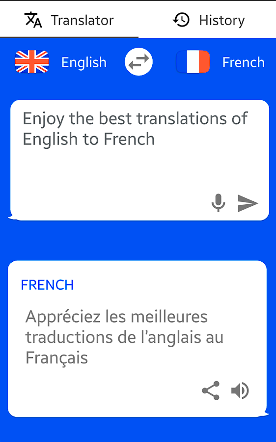 french english translator text to speech android apps on google play. Black Bedroom Furniture Sets. Home Design Ideas