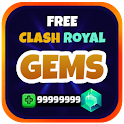 Gems Of Clash Royale Prank icon