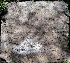 Photo: Baron Friedrich von Gundlach aus Mecklenburg starb beim Zeichnen in der Mittagshitze auf dem Friedhof in Rom und ist dort auch beerdigt.