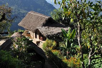 Photo: Entre le Khare bhanjyang et Sinchewa