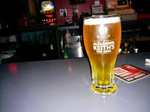 Photo: První pořádný pivo z pípy a ve sklenici. Sice nebyl půllitr, ale to mi bylo naprosto jedno <3