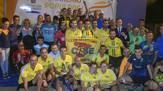 El Circuito Provincial de Carreras Populares culminará en Gádor