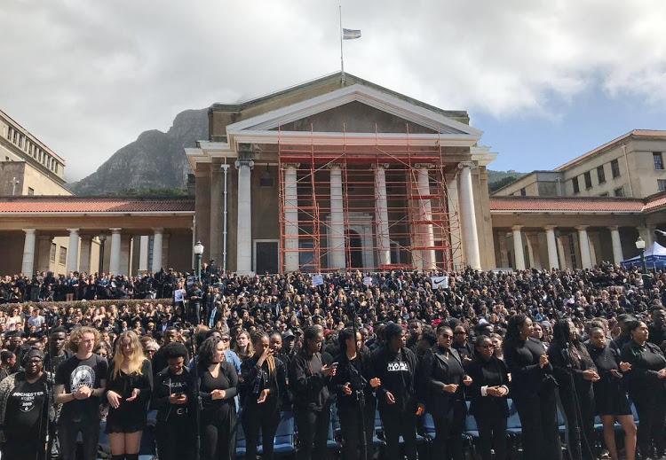 Skole regoor SA dra swart in verenigde houding teen geslagsgeweld - SowetanLIVE
