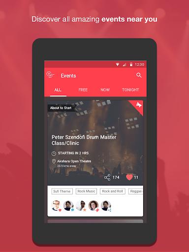 Nearify - Discover Events Screenshot