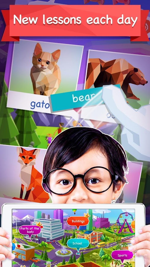 Kids Learn Languages by Mondly- screenshot