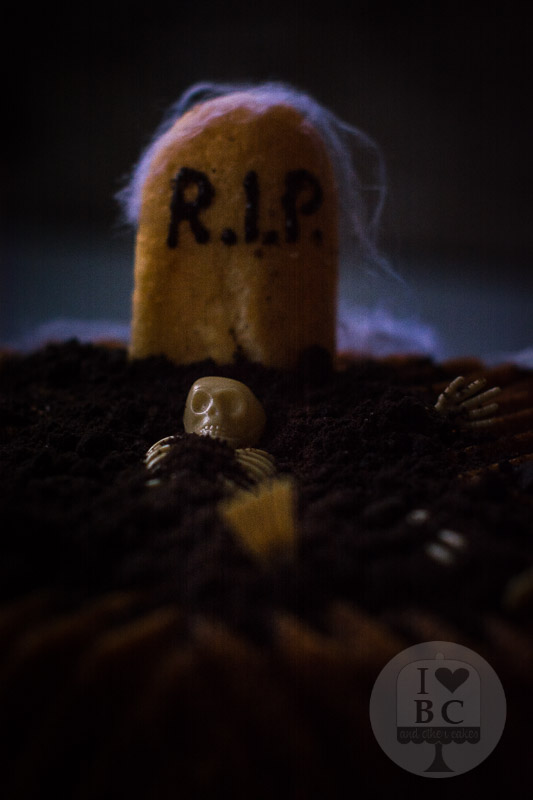 Bundt cake de calabaza y especias para halloween