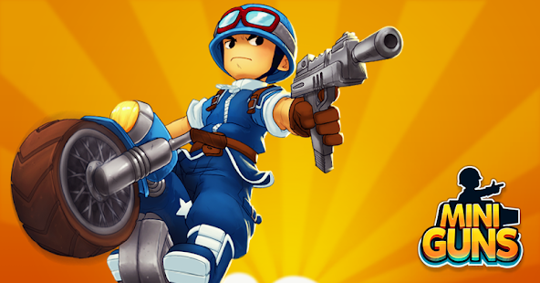 Mini Guns - Omega Wars Screenshot