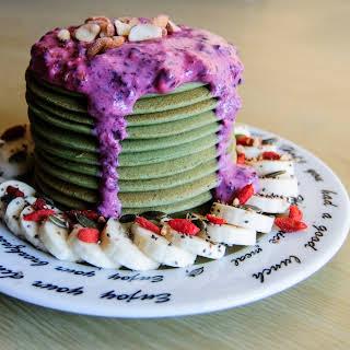 Proteic Spirulina Pancakes.