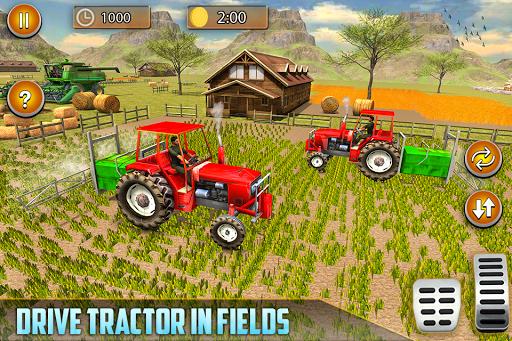American Real Tractor Organic Farming Simulator 3D apktram screenshots 9