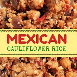 Mexican Cauliflower Rice.