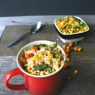 Fried Rice in a Mug.
