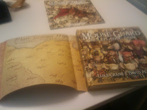 Photo: Mouse Guard Dust Jacket Interior