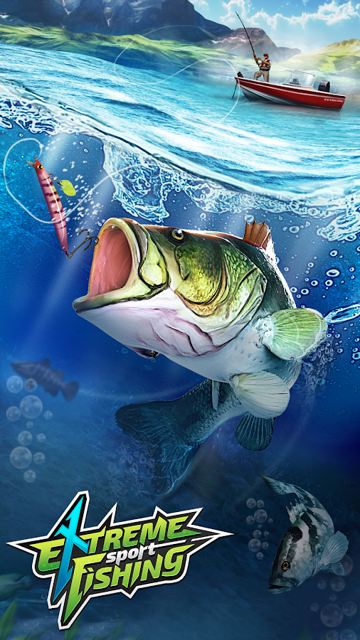Extreme sport fishing 3d game android apps on google play for Sport fishing games