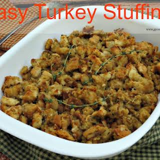 Easy Turkey Stuffing.