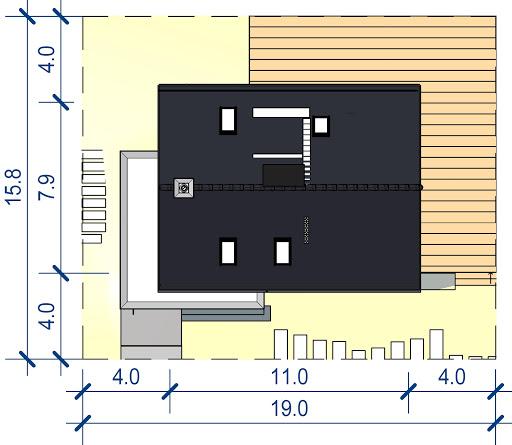 Domidea 58 m - Sytuacja