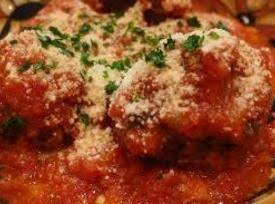 Crushed Tomato Marinara Sauce With Meatballs Recipe