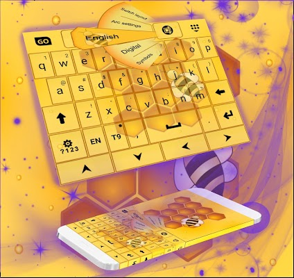 Yellow Keypad - screenshot