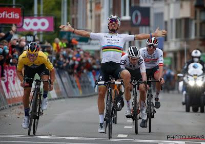 Julian Alaphilippe beleefde niet de beste sprint in Luik-Bastenaken-Luik