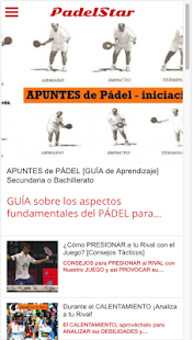 PadelStar, Official Magazine- screenshot thumbnail