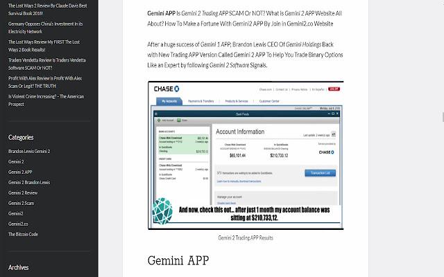 gemini trading software