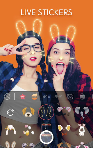 Sweet Face Camera - Selfie Camera & Beauty Filter 3.2.100444 screenshots 2