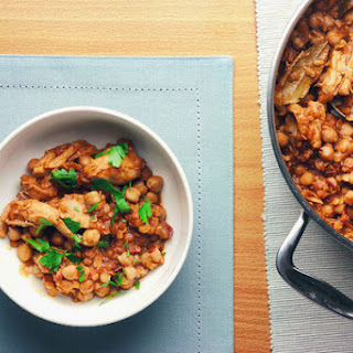 Chicken And Chickpea Cassoulet.