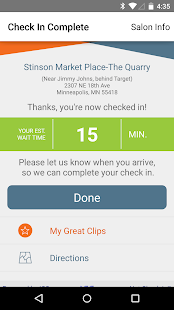 Great Clips Online Check-in- screenshot thumbnail