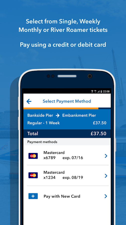 MBNA Thames Clippers Tickets- screenshot