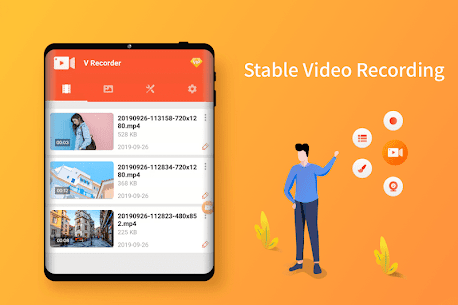 Screen Recorder, Video Recorder, V Recorder Lite App Download For Android 8