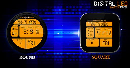 玩個人化App|数字LED手表表面免費|APP試玩