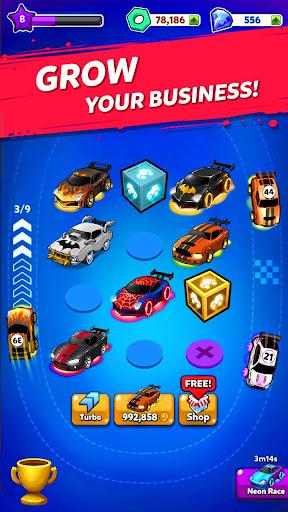 Merge Neon Car: Car Merger  screenshots 3