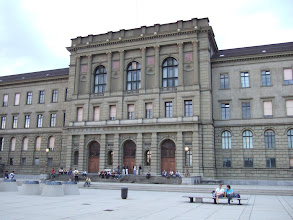 Photo: ETH - политехнический университет Цюриха. Ощущение - как от школы магии и волшебства Hogwarts. Здесь учился и преподавал Альберт Эйнштейн.