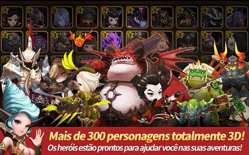 RPG de missões Heroes Wanted