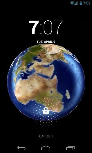 Funny Earth 3D Live Wallpaper