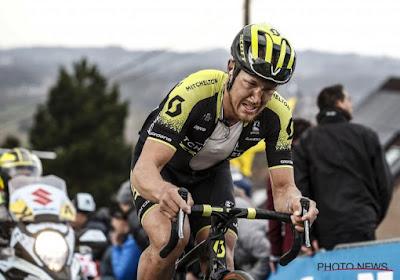 Slecht nieuws voor Trentin na val in Parijs-Roubaix