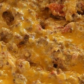 Taco Cheese Dip.