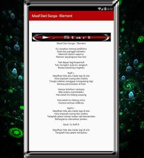 Lagu Element dan Lirik - náhled