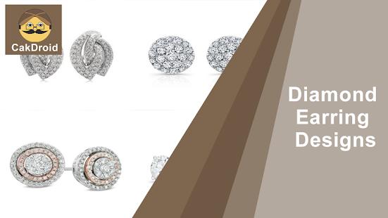 Design diamantových náušnic - náhled