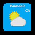 Palmdale, California - weather icon
