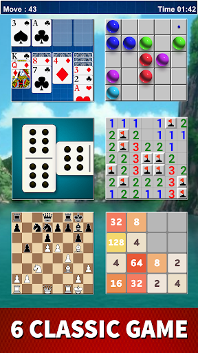 Board Game Classic: Domino, Solitaire, 2048, Chess 4 screenshots 8
