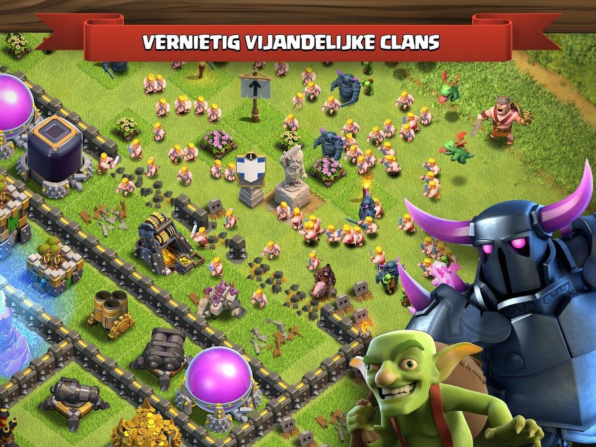 Clash of Clans: screenshot