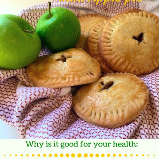A Healthier mini Apple pie