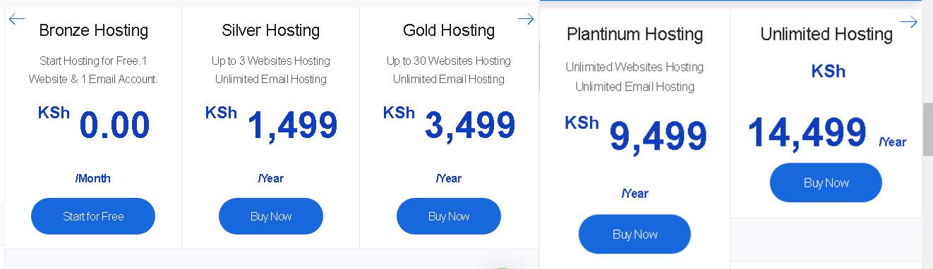 truehost web hosting plans