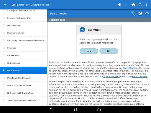 DSM-5 Differential Diagnosis 2.7.80 screenshots 11