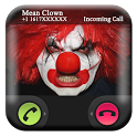 Spooky Clown Fake Call And SMS icon