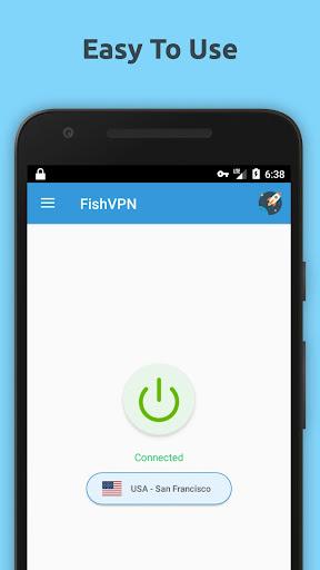 Free VPN Unlimited Proxy By FishVPN image 1