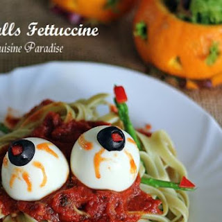 Eyeballs Fettuccine