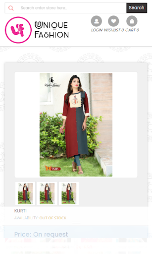 Screenshot for UniqueFashion in United States Play Store